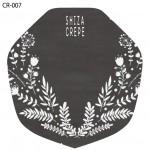 クレープ包装紙デザイン見本CR-007